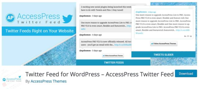 Extension Access Press Twitter Feed