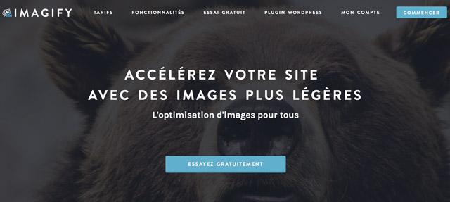 Imagify pour compresser ses images