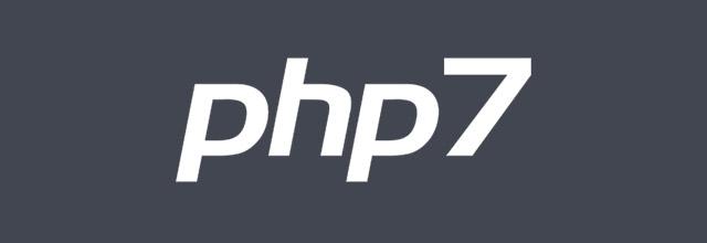 Activez PHP7 sur votre serveur
