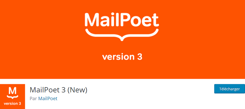 Plugin WordPress MailPoet