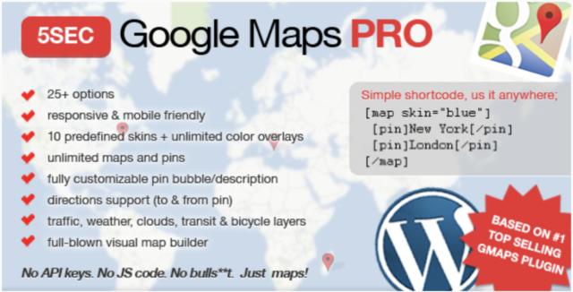 5SEC Google Map Pro capture d'écran répertoire