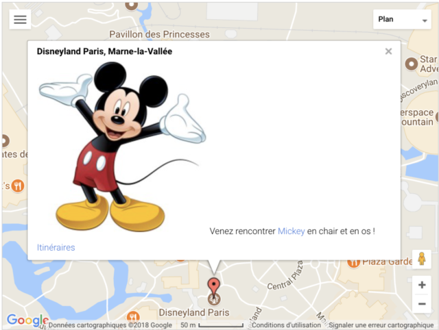 MapsPress Easy Mickey Mouse