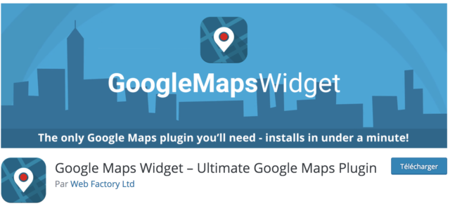 Google Maps Widget capture d'écran répertoire officiel