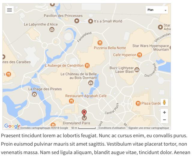 MapPress Easy intégration de la marque