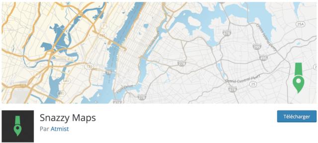 Snazzy Maps permet de customiser une carte pour intégrer Google Maps et WordPress