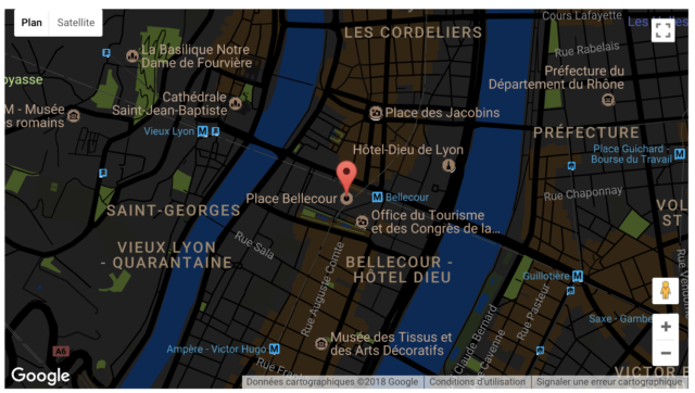 Snazzy Maps intégration en page
