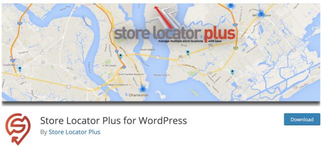 Store Locator Plus capture répertoire