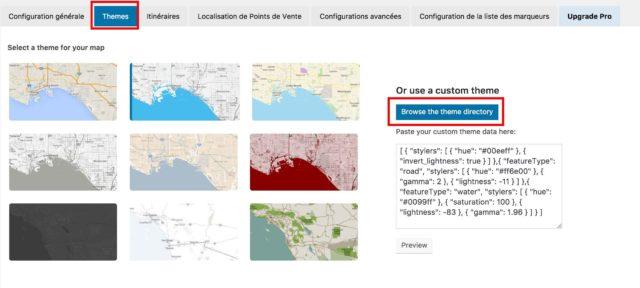 WP Google Maps customisation thème