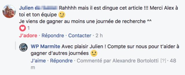 Témoignage Julien