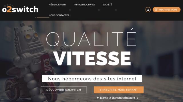 Installer WordPress chez o2switch