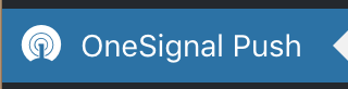 Icône de OneSignal