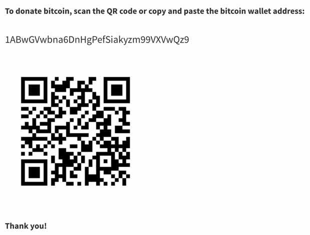 QR Code Cryptocurrency all in one