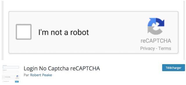 plugin login no captcha