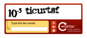 captcha sur wordpress