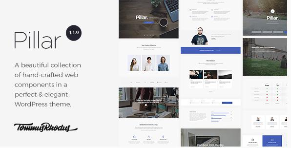 Le thème Pillar pour vos Landing Pages WordPress