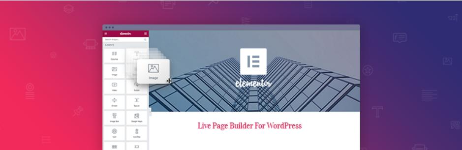 Le célèbre Elementor est sans doute l'un des page builders les plus maniables pour créer votre Landing Page sur WordPress