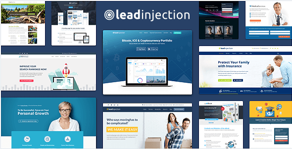 Le thème Leadinjection vous aidera à convertir vos visiteurs
