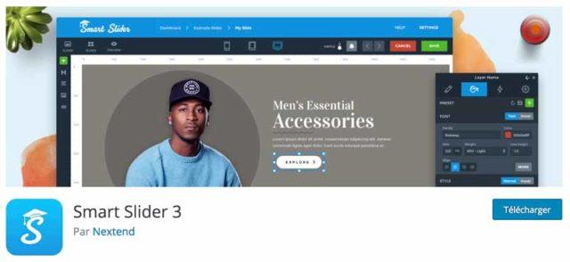 Smart Slider 3 est l'un des meilleurs plugins WordPress pour créer un carrousel