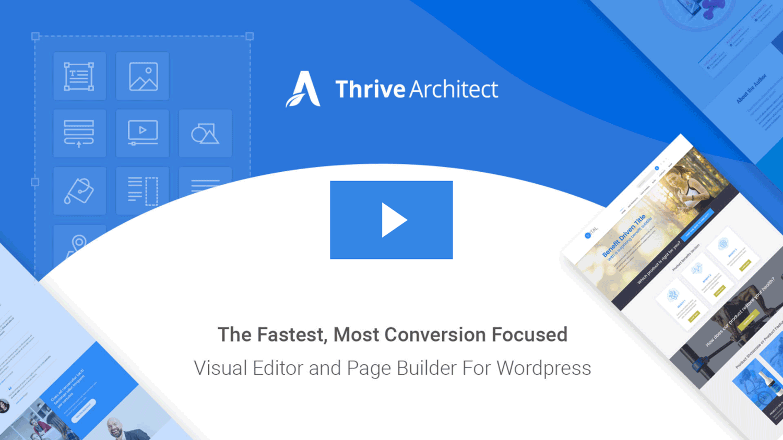 Thrive Architect : LE page builder pour vos pages d'atterrissage