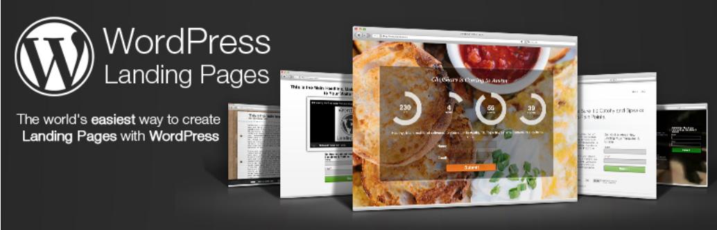 Le plugin gratuit WordPress Landing Pages