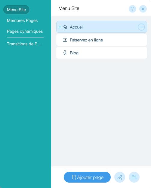 Ajouter ou supprimer des pages à votre site Wix : simple comme bonjour