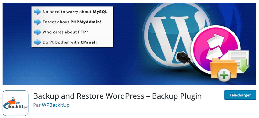 site WordPress datant
