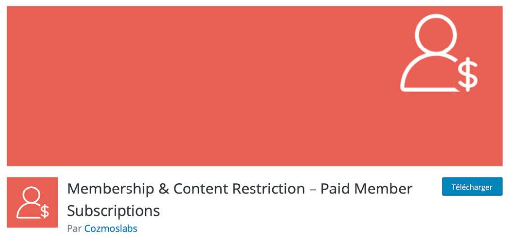 Paid Membership Subscriptions