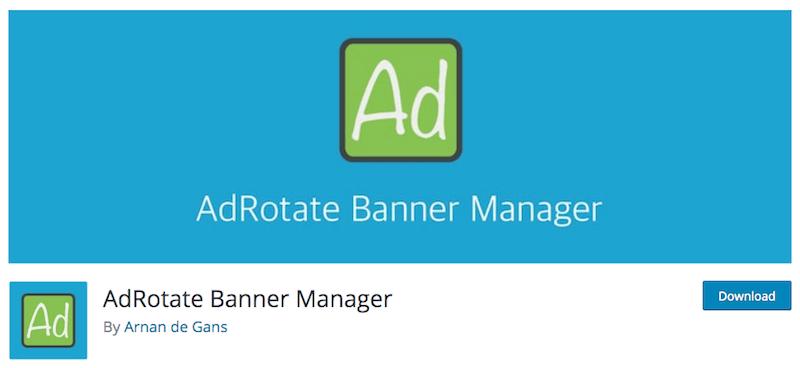 AdRotate Banner Manager : un plugin simple pour diffuser de la publicité sur son site WordPress