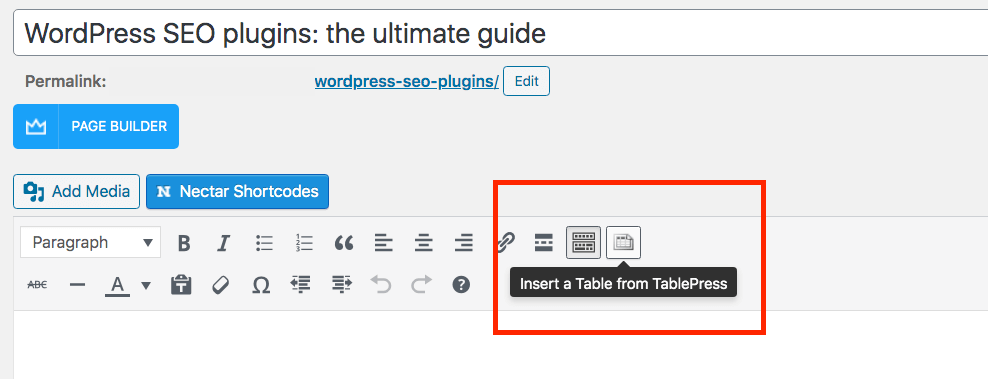 You can still use TablePress with the classic editor