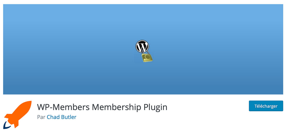 Plugin d'espace membres WP-Members