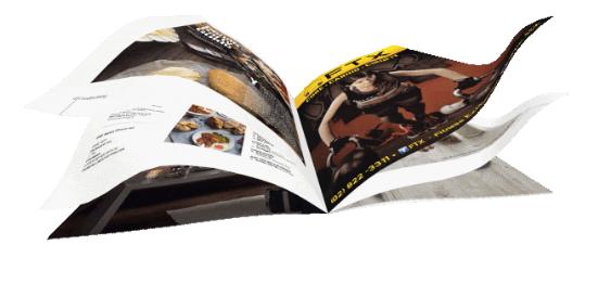 Exemple d'un flipbook créé avec Interactive 3D FlipBook